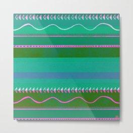 nayarit, emerald Metal Print