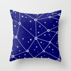 Constellations/Star Gazing Throw Pillow