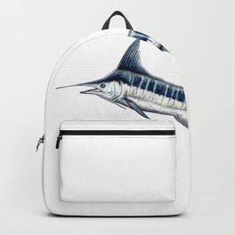 Blue Marlin (Makaira nigricans) Backpack
