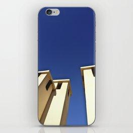 Blue sky, Morocco iPhone Skin