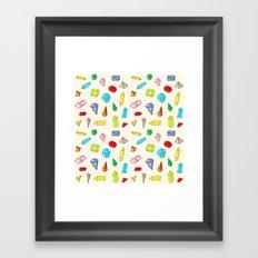 Jewels Framed Art Print