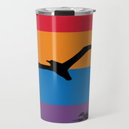 Albatross Retro and Vintage Flag Travel Mug