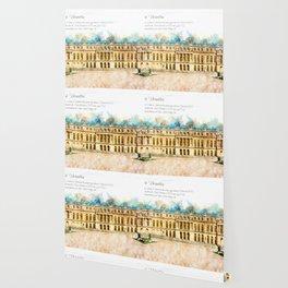 Versailles, Aquarell Wallpaper