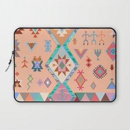 Peachy Boho Kilim Laptop Sleeve