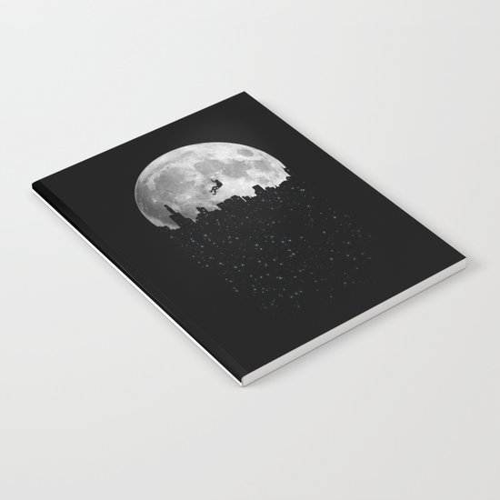 The Moon Climber Notebook