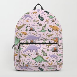 Pretty Dinosaurs Backpack