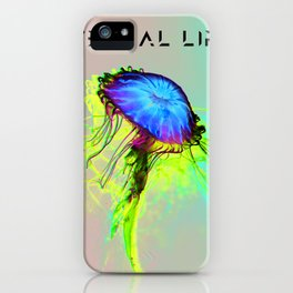 The Immortal Jellyfish iPhone Case