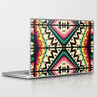 tribal Laptop & iPad Skins featuring Tribal by Ornaart