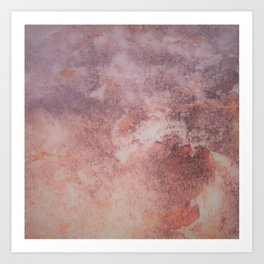 Marbled clouds Art Print