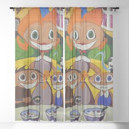 To Whom It May Concern Sheer Curtain