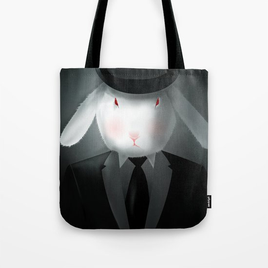 Good-Evening, Mr. Bunny Tote Bag
