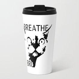Breathe, Bro Travel Mug