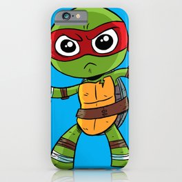 TMNT Raphael iPhone Case