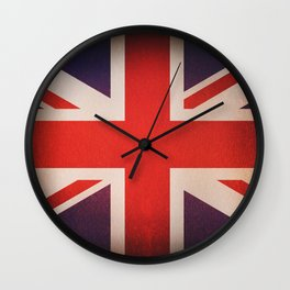 OLD UNITED KINGDOM FLAG Wall Clock