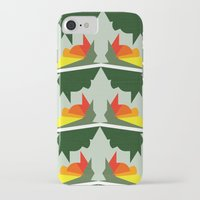 ships iPhone & iPod Cases featuring Burning Ships by Mimi