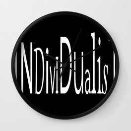 Individualist Wall Clock