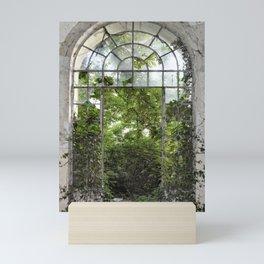 window to nature Mini Art Print