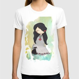 LADY CAT T-shirt