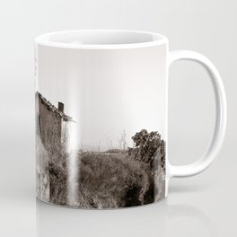 "Abandoned Barn of Sardinia - ""VACANCY"" zine Coffee Mug"