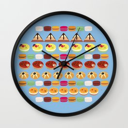 Pies & Cakes Wall Clock