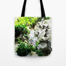 THE STREAM ALONG THE WAY Tote Bag