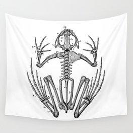 Frog skeleton Wall Tapestry