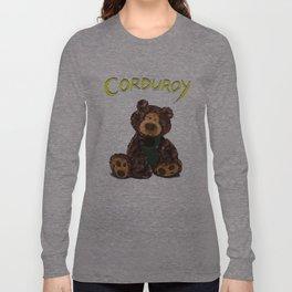 Corduroy Long Sleeve T-shirt