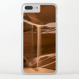 Antelope Canyon Clear iPhone Case