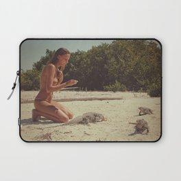 Iguana Island Laptop Sleeve
