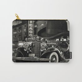 Don Cadillacchio Black and White Carry-All Pouch