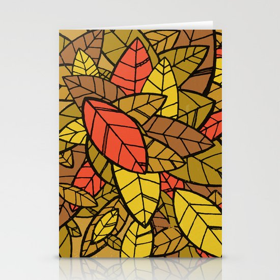 Autumn Memories Stationery Cards