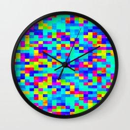 Chromoscope IV ][ Revert Future Raster Wall Clock