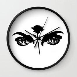 Love Hurts (white) Wall Clock