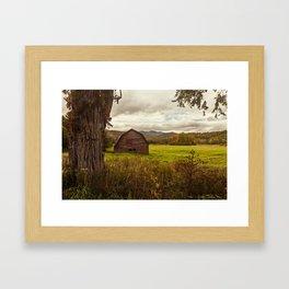an adirondack icon Framed Art Print