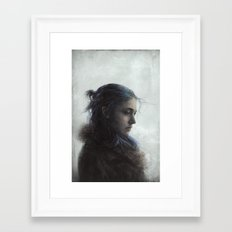 Clem Framed Art Print