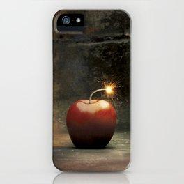 Apple bomb iPhone Case