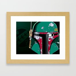 Bounty Hunter Framed Art Print