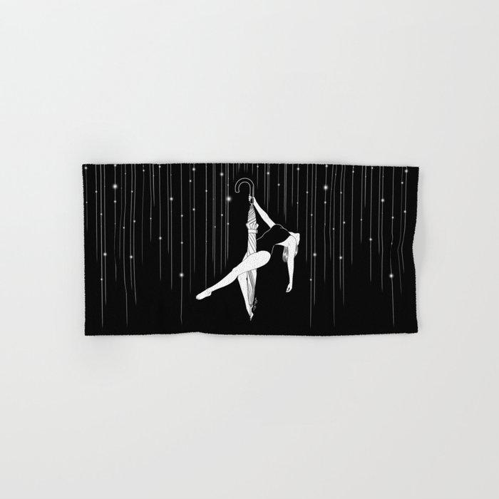 Dancing in the Rain Hand & Bath Towel