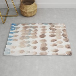 15   | 190321 Watercolour Abstract Painting Rug