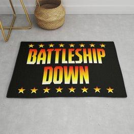 Battleship Down Rug
