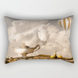 Still Life with pears Rectangular Pillow