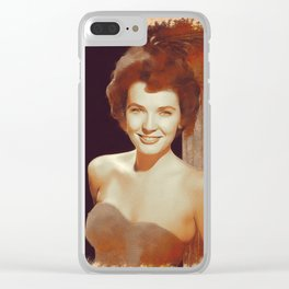 Polly Bergen, Hollywood Legend Clear iPhone Case