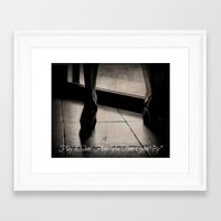 casablanca Framed Art Prints featuring Casablanca by Ginevra