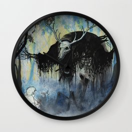 The Nightmare and The Muse Wall Clock