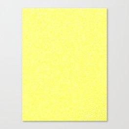 Melange - White and Yellow Canvas Print