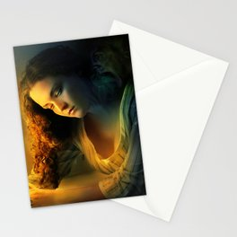 Ghost love story | Cadence of her last breath Stationery Cards