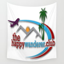 The Happy Wanderer Club Wall Tapestry