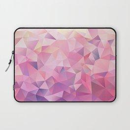 polygonal pink pattern Laptop Sleeve