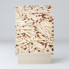 Matches Mini Art Print