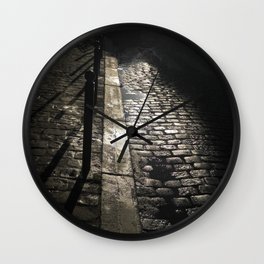 Street In Paris Wall Clock